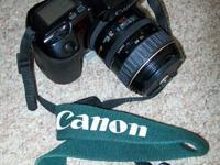 I have for sale a full photography setup:  Canon EOS