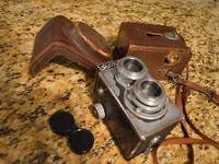 Classic, Antique Classic Camera. Ricohflex III Sept
