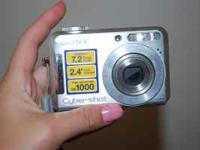 i have a sony cyber shot for sale. mega pix is 7.2 only