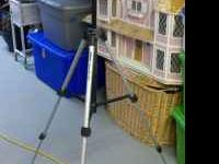 It is a Velbon Videomate 300 tripod. I never really