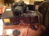 Nikon D5100 Camera Great Condition Barley use...Still