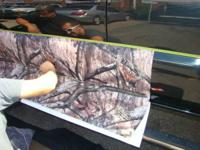 MARKETING CAMOUFLAGE ROCKER PANEL SET. THE CAMOUFLAGE