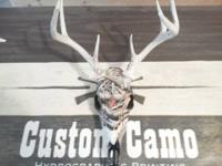 Here at Custom Camo guns is not the only thing we Camo.