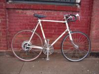 Campania road bike:  Good condition Crossbow brake