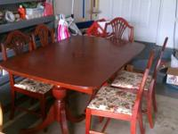 Beautiful Campbellsville Handcrafted Cherry Dining Room