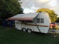 great camper for river ranch or hunting trip or even