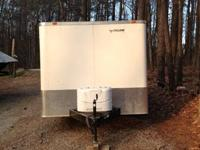 2012 Hurricane Cyclone cargo trailer this trailer is