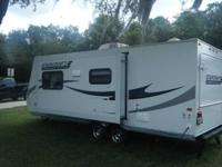 24 foot Starcraft trailer that we bought new in 2012.
