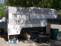 Fully loaded camper with Gas/Elect stove, refrigerator,