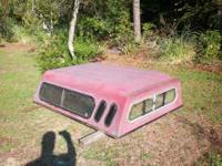 Camper shell fits a 86 Toyota standard truck. 200.00 or