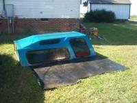 Camper shell and bed mat came off of 1994 Dodge Dakota