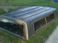 I am selling a camper shell black in color off a 91'