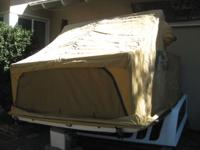 This is the famous Windernest pop-out tent system.