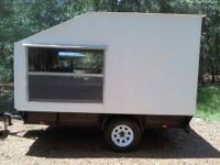 Toy Hauler Camper, RV Motorcycle or ATV, Sleeps Two.