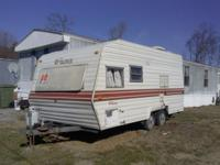 For Sale- 1984 bumper pull Camper Trailer has a