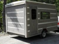 This one of kind theme camper was built from the ground