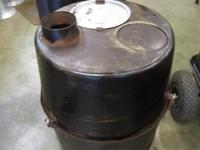 Campfire Stove Barrel - Chimney Mix - Coal   Here we