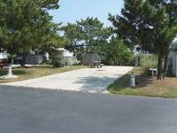 Lot 195 is located inside Outdoor Resort of Virginia