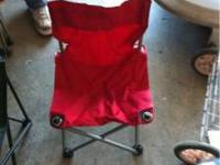 Camping chairs in great shape 3.00 each I have two if