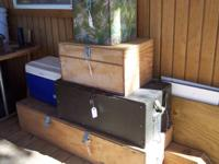 I have 4 wooden boxes built to carry camping equipment