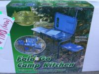 Outdoor Fold 'n Go Camp Kitchen. Great addition to your