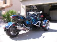 !2008 Can Am Spyder in excellent condition. Rotax 990,