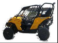 Brand New! Can Am Commander MAVERICK Back Seat and Roll