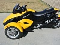 2008 Can-Am SPYDER It is in excellent condition, has