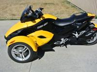 2008Can-Am SPYDER It is in excellent condition, has