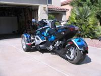 2008 Can Am Spyder in excellent condition. Rotax 990,