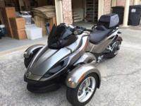 ,.,.,.2011 Can-Am Spyder RS which only has 5,824 miles
