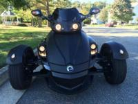 Can Am Spyder Roadster GS Phantom Black Limited