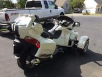 2012 Can-Am Spyder RT Limited. Lovingly ridden by an