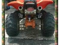 Can you say Lightening speed 2004 KFX 800 - 4 Wheeler -