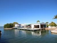 Canalfront Conch Key Residence. Canalfront property