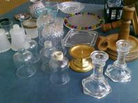 Over Twenty Five(25) Candle Holders and Votives --