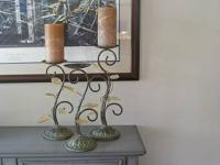 Beautiful candlesticks - set of 3. Priced to sell @