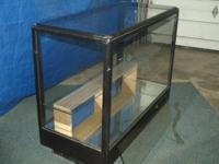 Older Candy Counter ,Glass Sides And Top, Mirrored