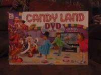 Candy Land DVD game. Missing one cardboard gingerbread,
