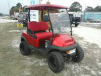 Candy Apple Red Golf Cart for sale at Discount Golf