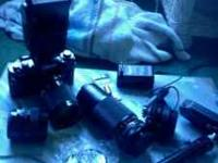 Cannon a1 with three lenses, great condition! It was my