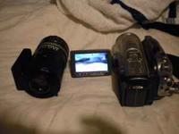 I have a nice Cannon HV20A High Definition camcorder -
