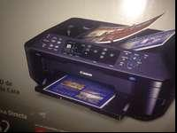 Cannon Pixma MX882 printer that has been pulled out of