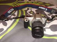 I have a Cannon Rebel 2000 EOS 35mm camera. Its in