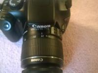 Selling my cannon T3 which I no longer need. Great