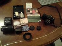 Cannon T50 35mm Camera: In great condition.  Works as