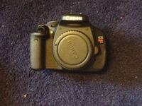 Hi everybody! I have a Cannon t3i rebel for sale. Has