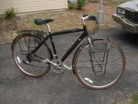 great bike check out photos has fenders and racks  //