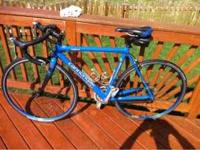 Nice, light bicycle. 2003 Cannondale R800 road bike