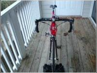 Im trying to sell my road bike. I have barely ridden it